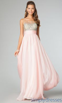 Floor Length Sleeveless JVN by Jovani . I really love this dress!!!