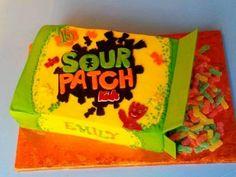 Sour Patch Kids Birthday facebook.com/cakesbyjenhavenar