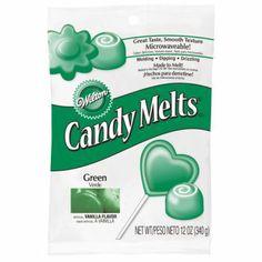 Candy Melts vert foncé Wilton 335 gr