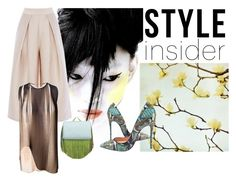 """""""I only have eyes for you"""" by obsessedaboutstyle ❤ liked on Polyvore featuring Christian Louboutin, STELLA McCARTNEY and The Volon"""