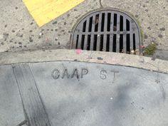Capp, not Caap! Read the full post here: http://urbanhikersf.blogspot.com/2013/09/concrete-mixer-upper-sidewalk-mistakes.html