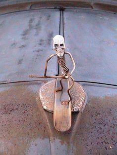 Robert Schmidt's Rat Rod Hood Ornament