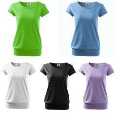 Women's Top Short Sleeve Basic Jersy100% cotton Plain t-shirt excellent quality  | eBay