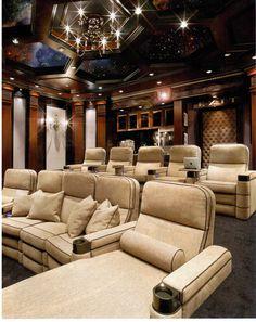 home theatre 2 - Home Theater Lighting Design
