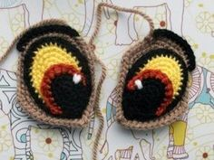코바늘인형 눈표현 eye 아미구루미[코바늘] : 네이버 블로그