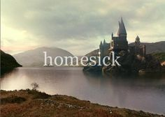 """Whether you come back by page or by the big screen, Hogwarts will always be there to welcome you home."" -J.K. Rowling <3"