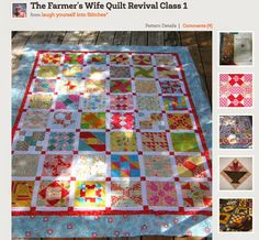 Sew Together BagPay It Forward ~ Day 2Me? A Farmer's Wife?Pay It Forward Day One - WinnerPay it Forward ~ Day OneJelly Roll Quilt and Paying it ForwardA Quilt for my NaomiA Do Over ~ by A Quilting Sheep