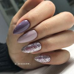 lilac and glitter? yes please