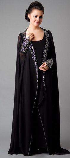 Hijab Abaya Latest Fashion Trends 2013 For Ladies (2)