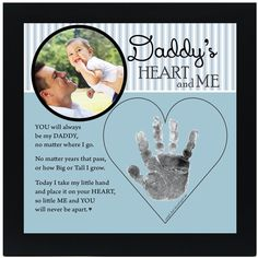 My Funny Valentine, Valentines, Valentine Crafts, Christmas Crafts, Perfect Gift For Dad, Gifts For Dad, Diy Father's Day Gifts From Baby, Diy Daddy Gifts, Father's Day