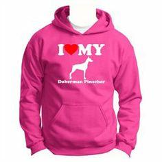 #ThisWear #ApparelTops #Love #Doberman #Pinscher #Youth #Hoodie #Sweatshirt I Love My Doberman Pinscher Youth Hoodie Sweatshirt http://www.snaproduct.com/product.aspx?PID=7538218