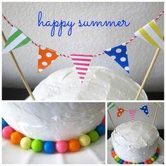 celebrating summer cake
