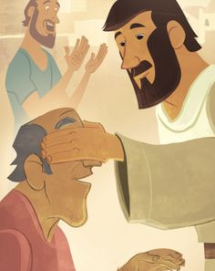 Dear Parents, Thank you for continuing this journey of The Gospel Project® for Kids. Today's Bible story takes us to the outskirts of Jericho where a man named Bartimaeus sat by the side of the. Jesus Calms The Storm, Jesus Cartoon, Prophet Isaiah, Son Of David, Miracles Of Jesus, Flannel Board Stories, Bible Illustrations, Jesus Art, Bible Pictures