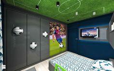 pokój dla chłopca aranżacja - zdjęcie od ARTDESIGN architektura wnętrz - Pokój dziecka - Styl Nowoczesny - ARTDESIGN architektura wnętrz