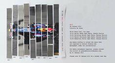 2014 Infiniti Red bull racing RB10 Launch invitation