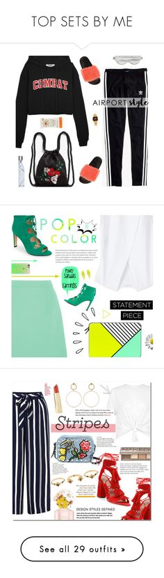 """""""TOP SETS BY ME"""" by konstadinagee ❤ liked on Polyvore featuring MSGM, Madewell, Givenchy, Monki, Branché, Casio, S'well, McQ by Alexander McQueen, MANGO and Nine West"""