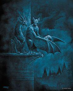 Vampires: Gothic Artwork by Joseph Vargo