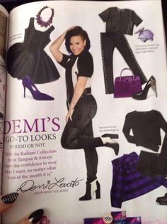 Demi Lovato for Tampax: Radiant Collection