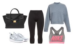 """""""M"""" by butnotperfect ❤ liked on Polyvore featuring Manon Baptiste, Acne Studios, NIKE and Forever 21"""