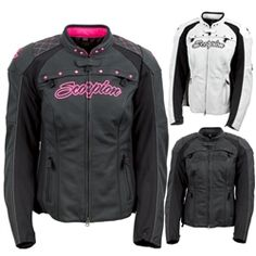 2014 Scorpion ExoWear Vixen Womens Street Motorbike Riding Motorcycle Jackets