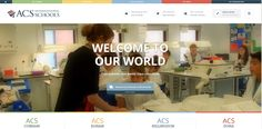 Fantastic new school website created for ACS Internation - http://www.acs-schools.com/ - Take a look now at our latest project to complete!