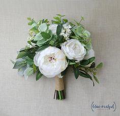 wedding bouquet, wedding flowers, boho bouquet, bridal bouquet, peonies, white, eucalyptus, wedding flower set, destination wedding. boho