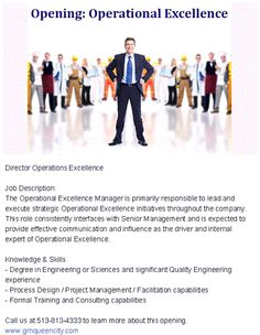 Defining Operational Excellence One Person At A Time  Operational