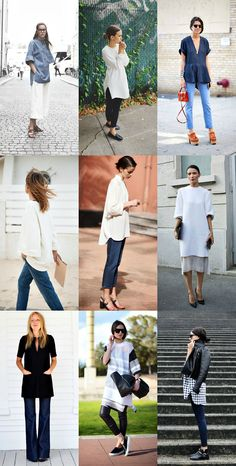 tunic collage