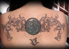 filigree and lace tattoos
