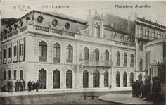 Teatro do Príncipe Real ou Teatro Apolo, 1910 - Lisboa