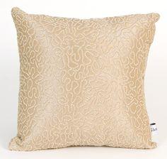 Central Park Coral Throw Pillow