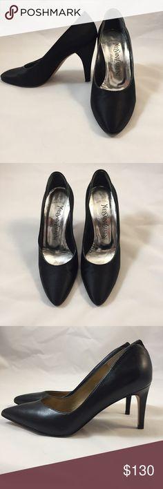 Yves Saint Laurent Classic Black Heels Size 6M Z Yves Saint Laurent Shoes Heels