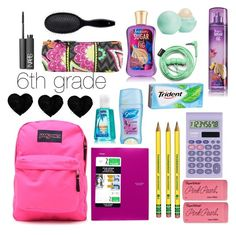 """""""What's in my back pack?"""" by nbtucker721 on Polyvore"""