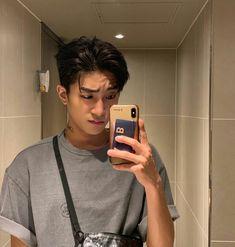 Korean Haircut Men, Asian Boy Haircuts, Asian Man Haircut, Korean Men Hairstyle, Haircuts For Men, Hair Korean Style, Medium Hair Cuts, Short Hair Cuts, Medium Hair Styles
