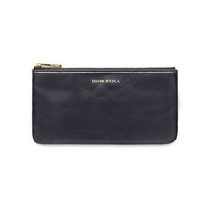 BIMBA Y LOLA Blue leather coin purse