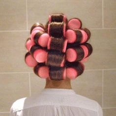 Most Amazing Invention Ever !! Thank God For Sleep In Rollers !! Goodbye Sleepless Nights Hello Great Hair .. Love Them <3