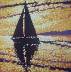 Golden Sunset. From Bell Fine Art - Work by Gordon Hunt