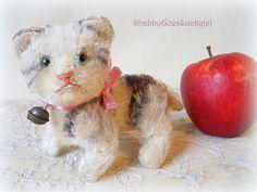Steiff cat Kitty fully jointed tabby mohair cat by ShabbyGoesLucky