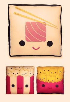 Oh you need to see the rest of the pillows, they are so cute!!!  Click through!
