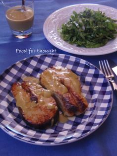 Σολωμός μαριναρισμένος σε μουστάρδα από το blog Pepi's Kitchen  http://laxtaristessyntages.blogspot.gr/2012/12/blog-post_5.html