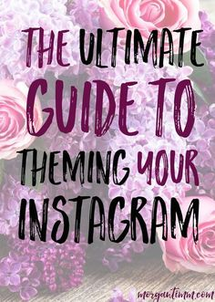 Theming your Instagram is one of the best things that you can do for your brand.