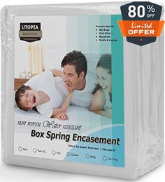 #cool We bring you luxurious Bed-Bug Proof Box #Spring Encasement at an affordable price. We have created an intensive product to protect your box spring from be...