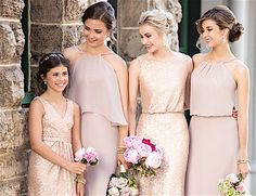 Trendsetting Sorella Vita Bridesmaid Dresses for the Girls