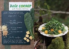 'The Forest Feast': Kale Caesar Salad with Polenta Croutons – Jew and the Carrot – Forward.com