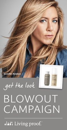 Wishing you could have a perfect blowout like Jennifer Aniston? Now you can. Living Proof Blowout is a faster, easier way to get a salon-worthy blowout at home.
