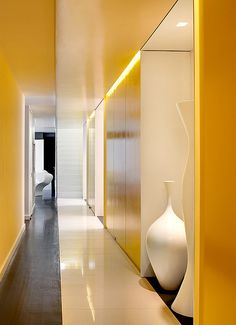 Penthouse in New York City by designer Barbara Littman and architect Robert D. Henry