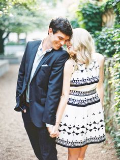 Engagement photos? Gosh love that dress!
