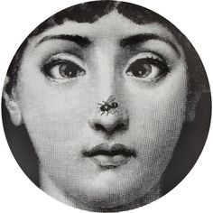"Plate 363 from Piero Fornasetti's ""Theme and Variations"" series"