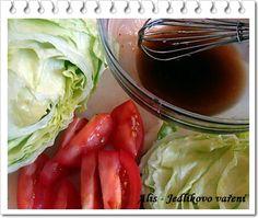 Jedlíkovo vaření: Medová salátová zálivka Cabbage, Vegetables, Fitness, Blog, Cabbages, Vegetable Recipes, Blogging, Brussels Sprouts, Veggies