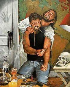 Mientras Tu Piensas Que Lo Disfrutas, Alguien Sufre Por Ti.  While you're thinking you're enjoying it; someone else is suffering for you.